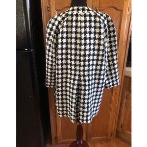 Rafaella Jackets & Coats - Rafaella Houndstooth Blazer Jacket Size 1X